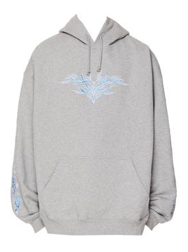 Tribal hoodie GREY