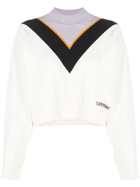 Mock Neck Cropped Jumper