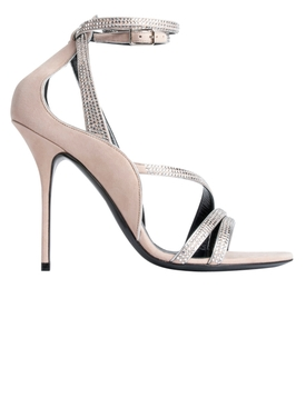 Midnight Sandals NUDE/SILVER