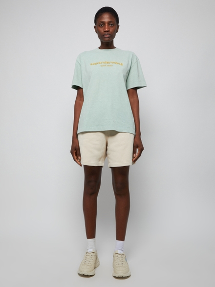 Alexander Wang Clothing Garment Washed Terry Shorts Turtle Dove