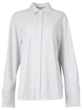 papery Japanese jersey shirt grey