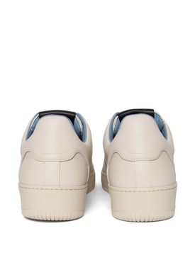 MONGOOSE LOW-TOP SNEAKER BONE WHITE BLUE AND BLACK
