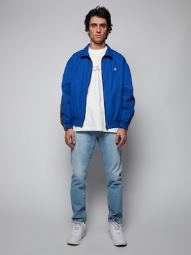 LOGO TAPE TRACKSUIT JACKET, ROYAL BLUE