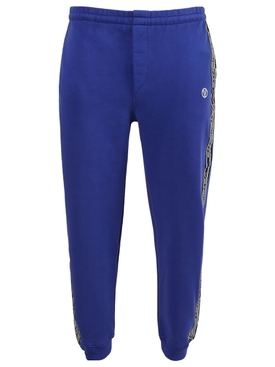 LOGO TAPE TRACKSUIT PANTS, ROYAL BLUE