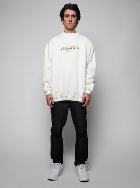 THINK DIFFERENTLY SWEATSHIRT, WHITE