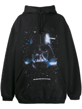 VETEMENTS X STAR WARS Darth Vader graphic hoodie