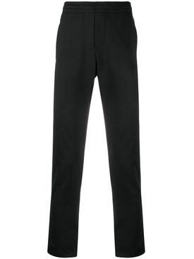 VLTN Back Pocket Logo Pants BLACK YELLOW