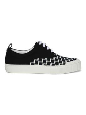 Ollie Geometric Print Low-Top Sneakers