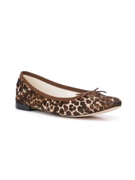 Leopard Print Cendrillon Ballerina Flats