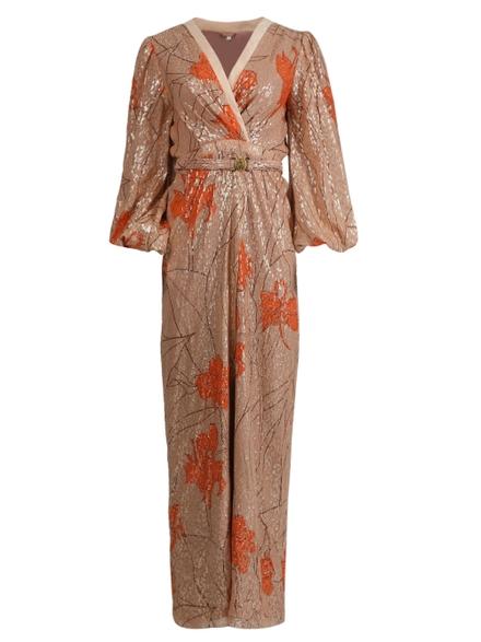 Johanna Ortiz Silks Bella Illusion Maxi Dress