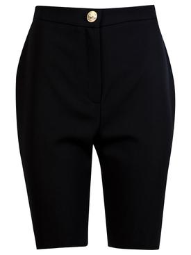 High waist crop cycling shorts