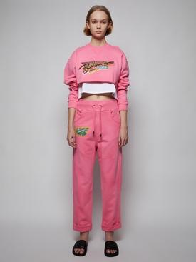 Pink Sun-bleached Sweatpants