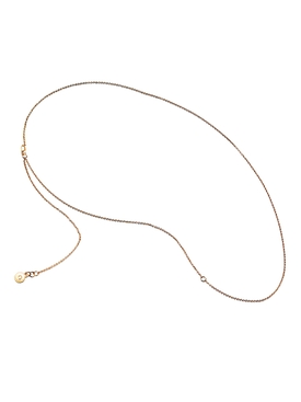 18k gold-plated thin chain