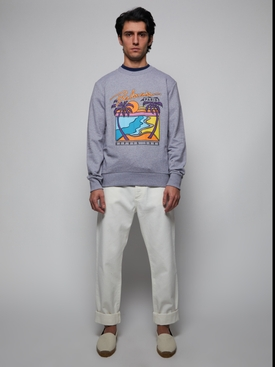 Exotic Destination Graphic Sweatshirt