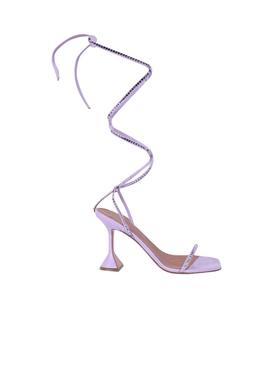 Vita embellished leather sandals