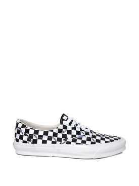 OG Era LX Checkerboard Print Sneaker Black and White
