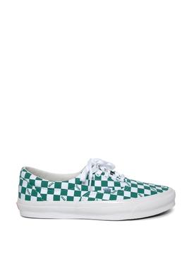 OG Era LX Checkerboard Print Sneaker Cadmium Green