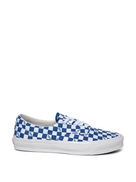OG Era LX Checkerboard Print Sneaker Nautical Blue