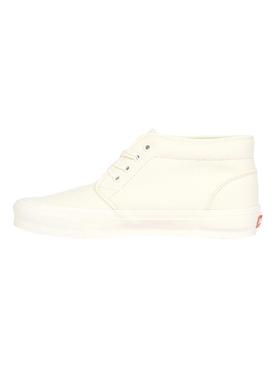 UA OG Chukka LX Canvas Sneaker, Classic White