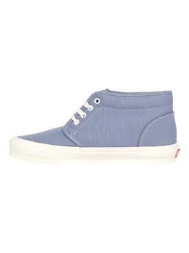 UA OG Chukka LX Canvas Sneaker, Tempest Blue