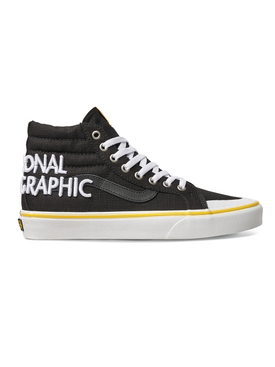 x National Geographic UA SK8-HI Reissue 13 Logo Sneakers