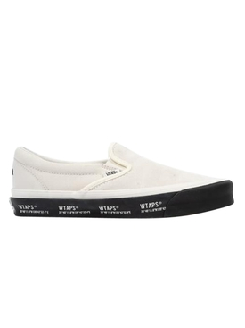 White & Black UA OG Classic Slip On Sneakers