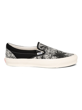UA OG Classic Slip-on Acid Wash Sneaker Black
