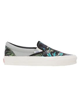 UA OG Classic Slip-on Hawaiian Parrot Print Sneaker Black