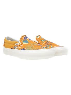 UA OG Classic Slip-on Hawaiian Parrot Print Sneaker Persimmon