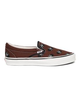 X Wacko Maria UA OG Classic Slip-On Sneaker Brown