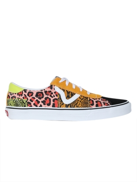 Vans - Animal Print Lace Up Sneaker - Men