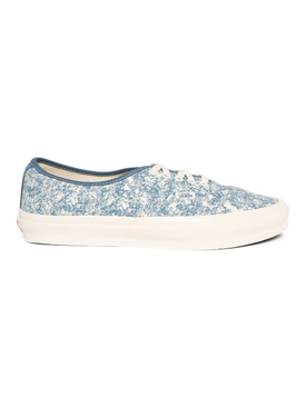 UA OG Authentic LX Low-Top Acid Wash Sneaker Navy