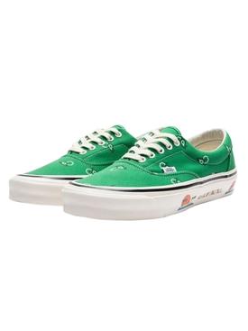 OG Era LX Paisley Sneaker, Fern Green