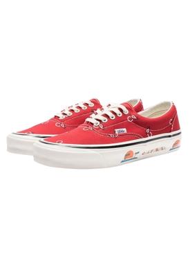 OG Era LX Paisley Sneaker, Pompeian Red
