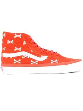 X WTAPS Crossbones Hightop Sneaker