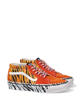 Vault X Aries OG SK8-Mid LX Sneaker Tiger Bright