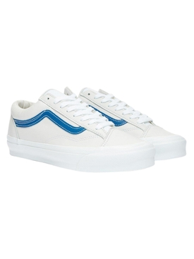 Vault UA OG Style 36 LX White and Blue Sneakers