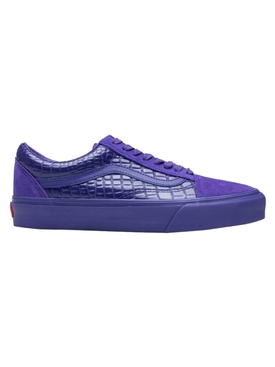 Vault Old Skool LX Low Tops, Croc Skin Deep Blue
