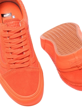 Vault Old Skool LX Low Tops, Croc Skin Flame