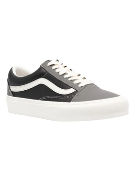 Vault UA Old Skool Sneakers, Charcoal & Black Leather