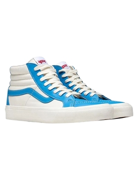 Sk8-Hi Reissue Vault LX Sneaker, Bonnie Blue and White