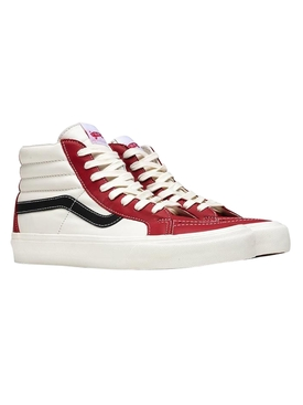 Sk8-Hi Reissue Vault LX Sneaker, Chili Pepper and Black