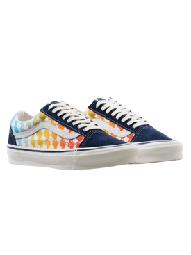 Rainbow Ying-Yang Print OG Old Skool LX Sneakers