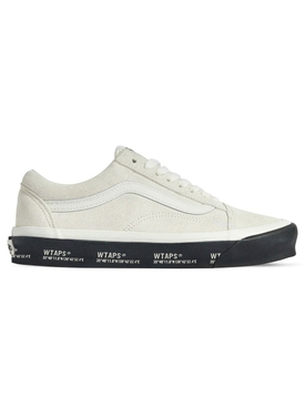 x WTAPS White Suede Low-Tops