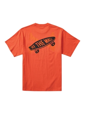 x WTAPS Short Sleeve T-Shirt, Mandarin Red