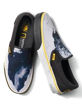 x National Geographic UA Classic Slip-On Glacier Sneaker