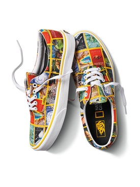 x National Geographic UA ERA Magazine Print Sneaker