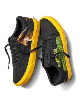 x National Geographic UA Old Skool Snake and Wolf Sneakers