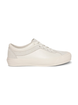 x The Webster Croco Bold Ni LX Low-Top Sneaker, Egret White