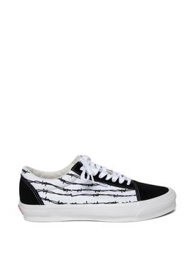 Old Skool NS OG LX Barbed Wire Print Sneaker True White